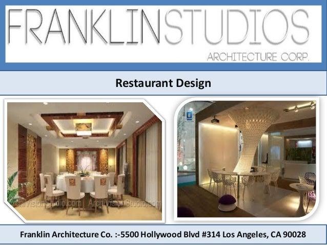 Restaurant interior design in los angeles