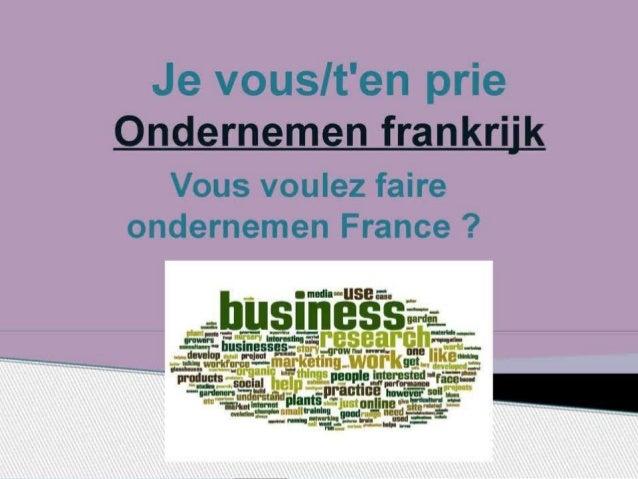 Des affaires en France la manière de faire des affaires sont étroitement reliées à la culture française, et les hommes d'a...