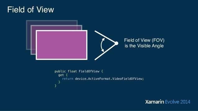 Programming Augmented Reality - Xamarin Evolve