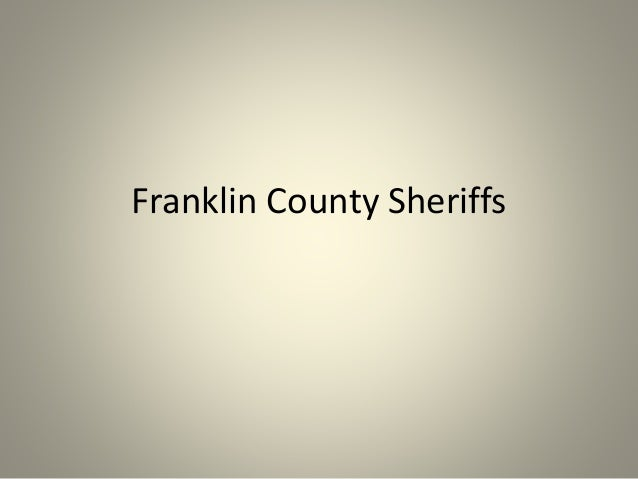 Franklin County Sheriffs