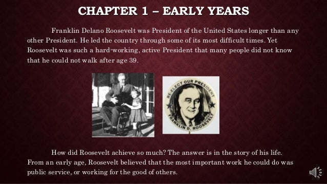 franklin d roosevelt biography essay Essay franklin delano roosevelt, (1882-1945), 32nd of the united states roosevelt became president in march 1933 at the depth of the great depression, was reelected.