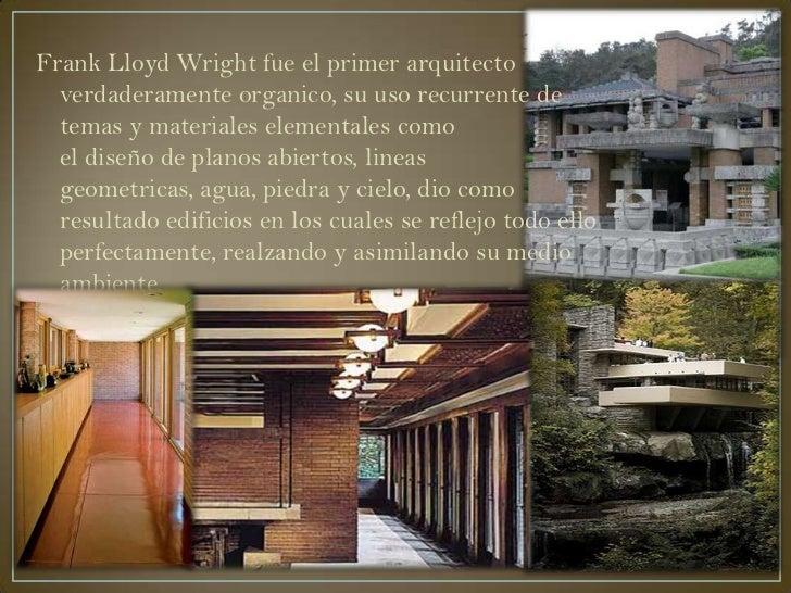 frank lloyd wright fue el primer arquitecto