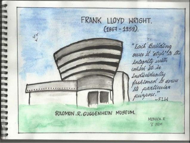 Frank lloyd wright...