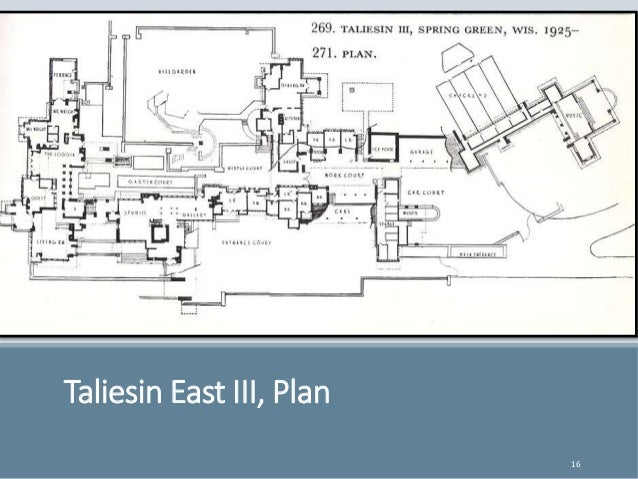 Frank Lloyd Wright Taliesin East And Taliesin West