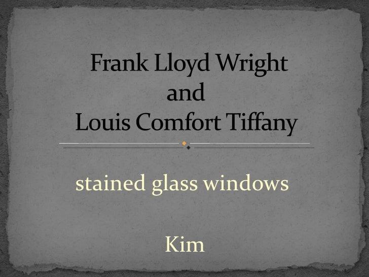 stained glass windows  Kim