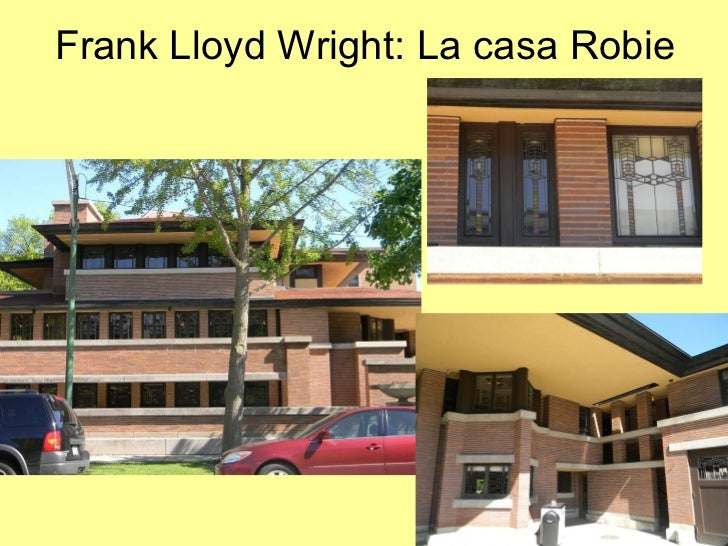 Frank lloyd wright la casa robie for Frank lloyd wright casa della prateria