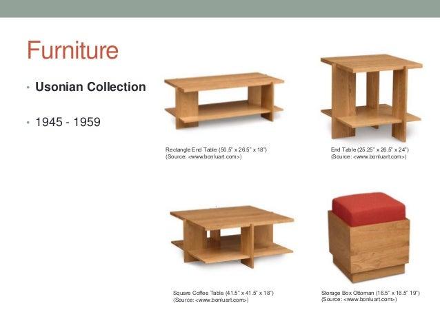 Furniture U2022 Usonian ...