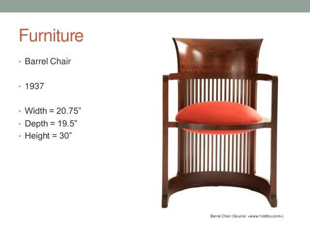 Furniture U2022 Barrel ...