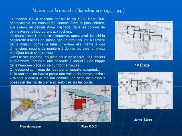 La Maison Sur La Cascade Plan | Ventana Blog