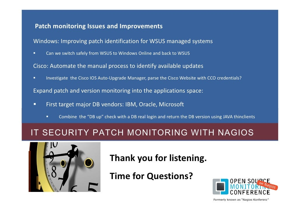 Frank Migge It Security Patch Monitoring With Nagios 02