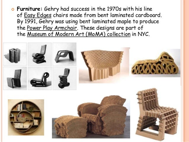 Frank O Gehry - Frank gehry furniture
