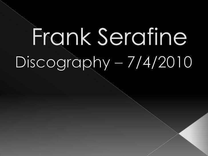 Frank Serafine<br />Discography – 7/4/2010<br />