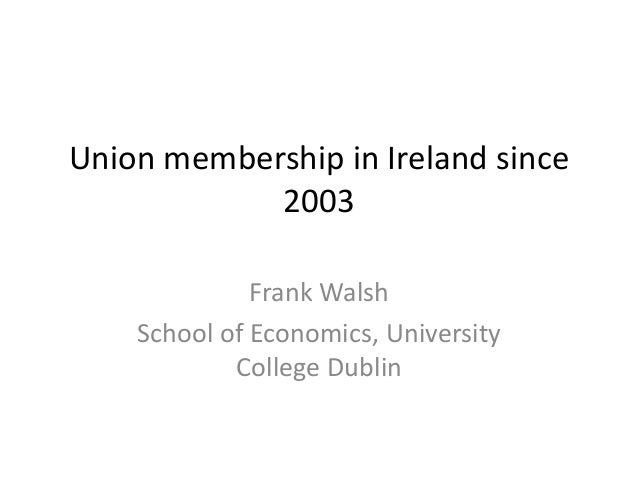 trade union membership decline