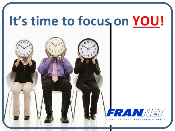 It's time to focus on  YOU !