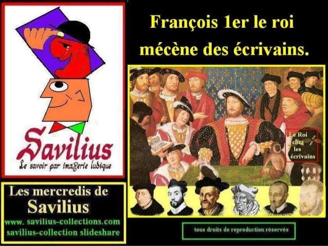François 1er et la littérature