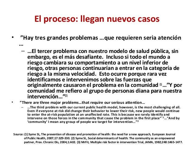 """El proceso: llegan nuevos casos • """"Hay tres grandes problemas …que requieren seria atención … – …El tercer problema con nu..."""