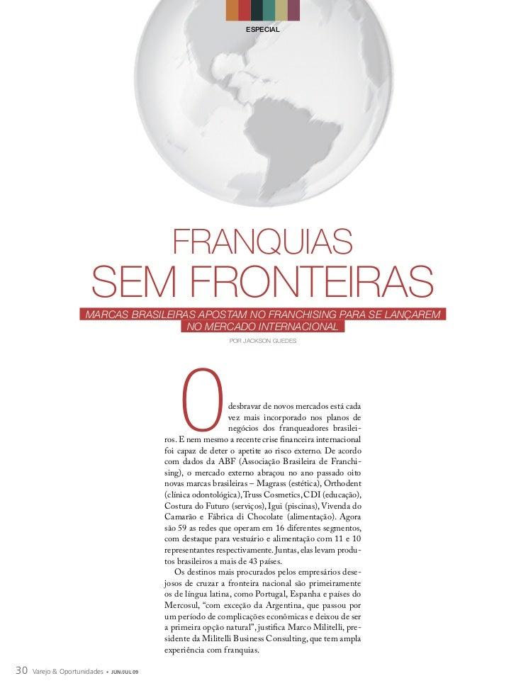 ESPECIAL                                               FRANQUIAS                       SEM FRONTEIRAS                     ...