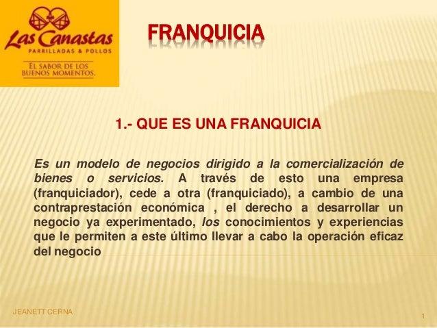 Franquicias Las Canastas