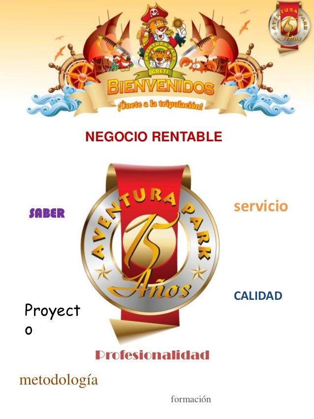NEGOCIO RENTABLE SABER                          servicio                                CALIDADProyecto           Profesio...