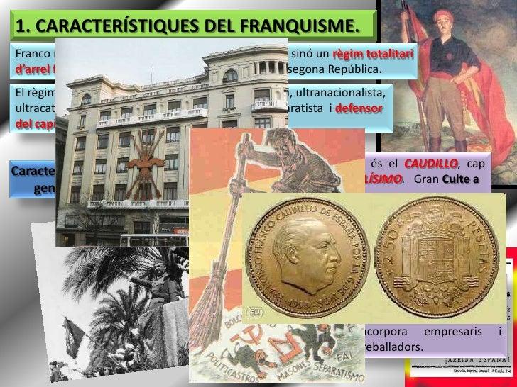 El Franquisme (1939 - 1975) Slide 2
