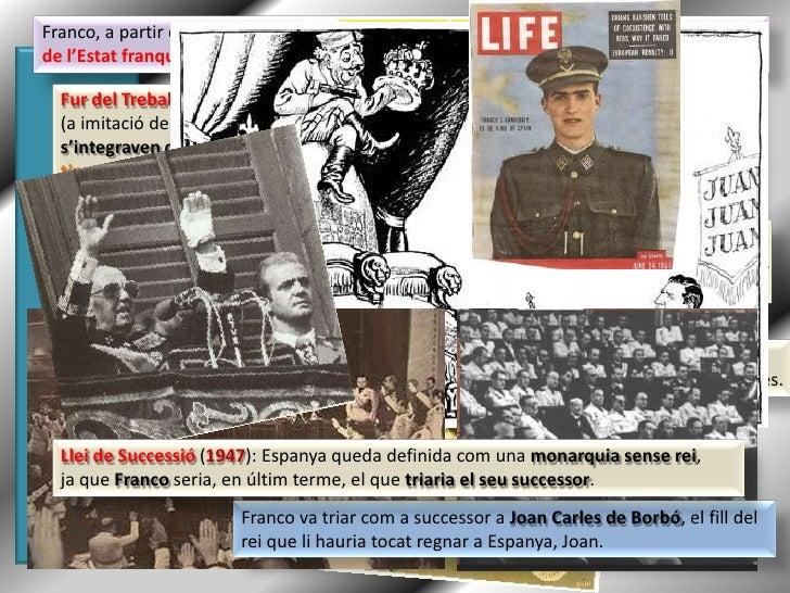 El Franquisme (1939 - 1975) Slide 3