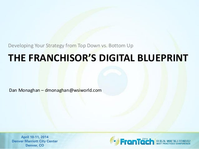 Developing your strategy from top down vs bottom up the franchisor 2 franchisors reality malvernweather Gallery