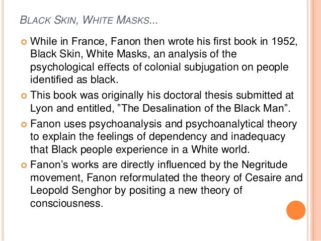 The concept of post colonial theory in frantz fanons wretched of the earth
