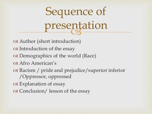 frantz fanon essay the fact of blackness ppt