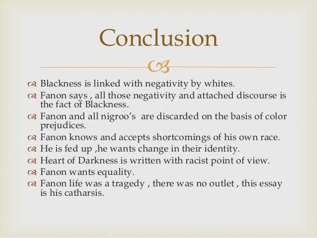 frantz fanon essay the fact of blackness ppt purpose 31