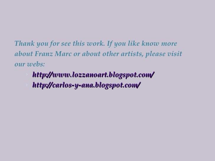 Franz Marc Slide 2