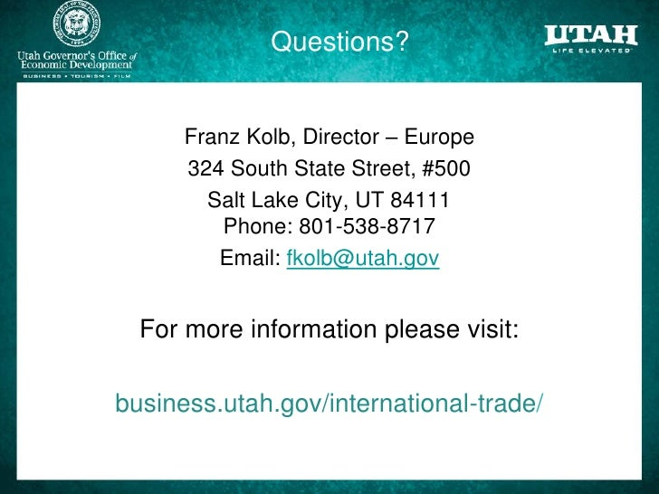 Utah saudi trade and investment trends for Jewelry making classes salt lake city