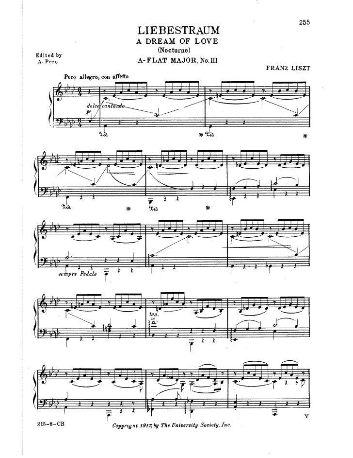 Franz liszt liebestraum-no_3