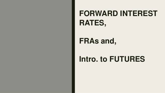 Forward Rate Agreement Ppt