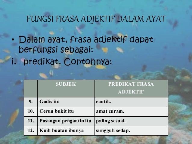 Frasa Adjektif