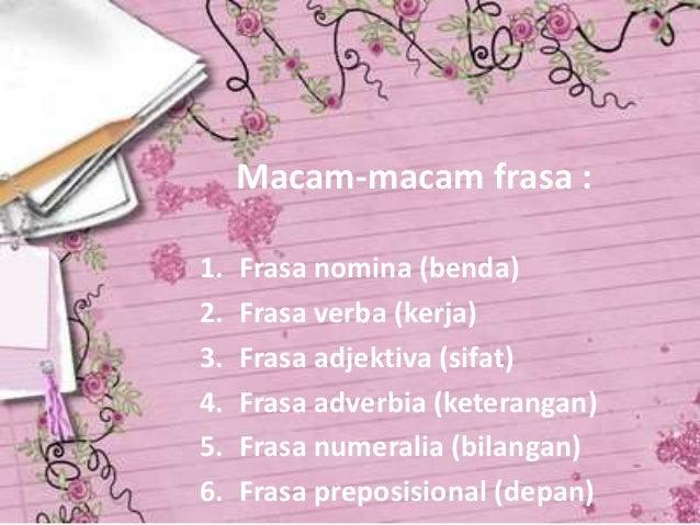 Frasa Adjektiva Kelas X Sma