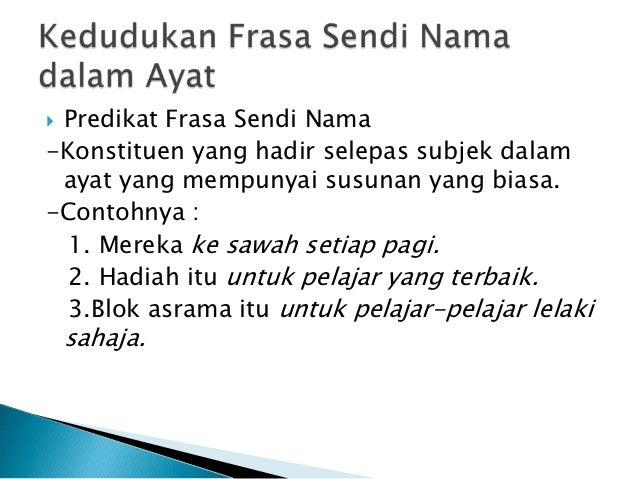 Frasa Sendi Nama