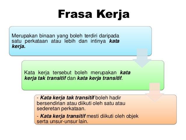 Frasa Kerja
