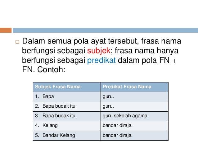 Contoh Ayat Frasa Kerja Tak Transitif Feed News Indonesia