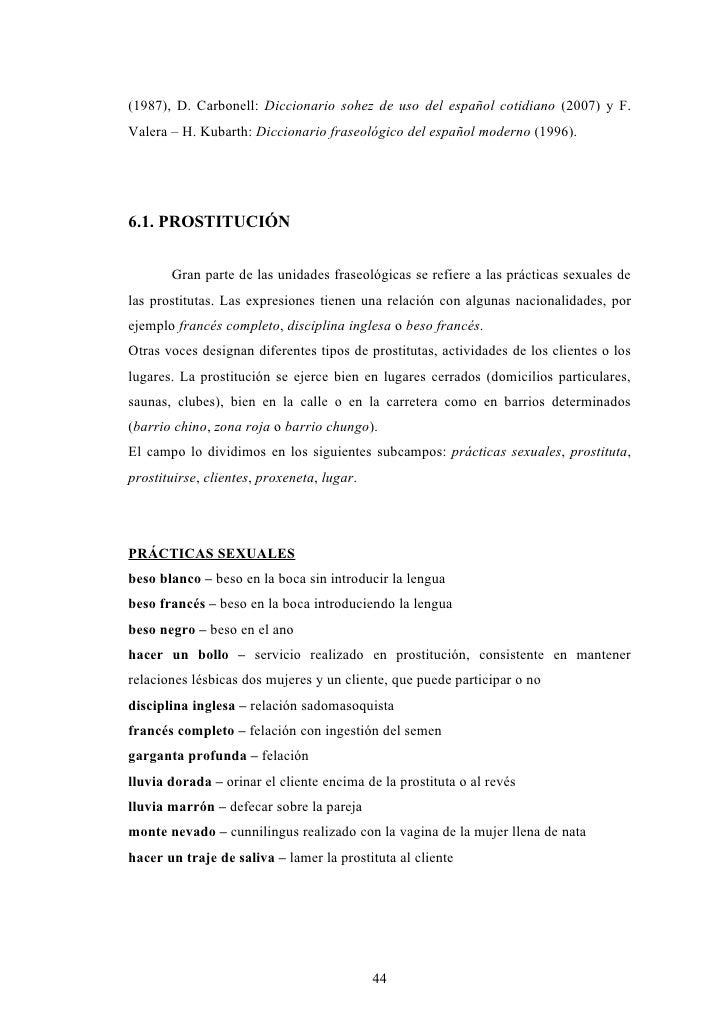 sinonimos de pidio prostitutas particulares en valencia