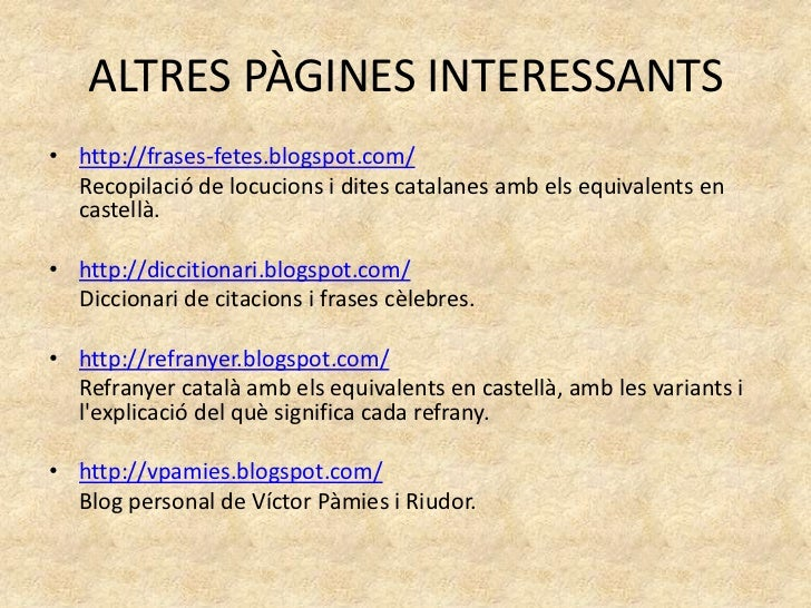Fraseologia Catalana