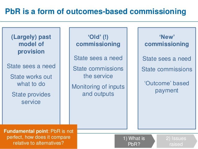Fraser Battye - Assessing risks and Payment by Results Slide 3