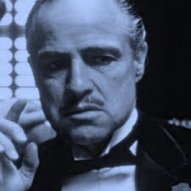 """""""Agora você vem a mim e diz 'Don Corleone, faça justiça', mas você não pede com respeito. Você não oferece sua amizade. Vo..."""