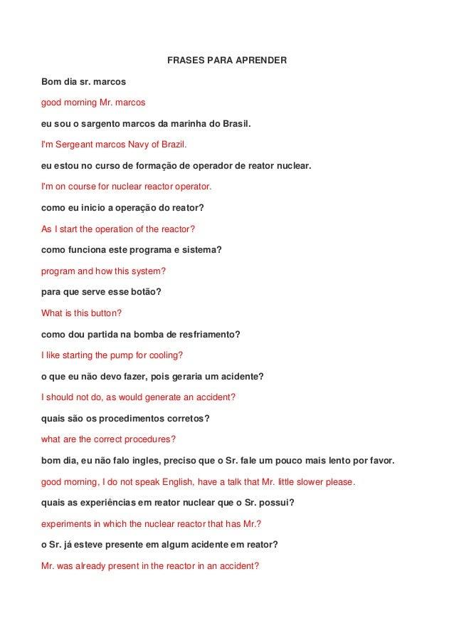 Frases Para Aprender Em Ingles