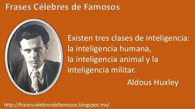 Frases Célebres De Aldous Huxley