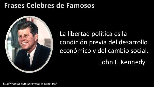 Frases Célebres De John F Kennedy