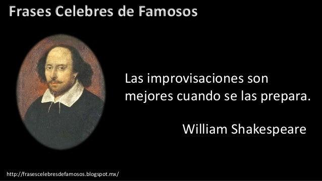 Frases Célebres De William Shakespeare