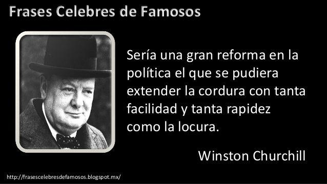 Frases Célebres De Winston Churchill