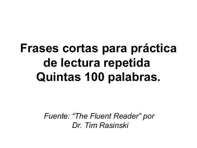 Frases Cortas Fry 5