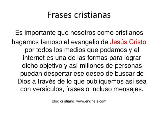 30 Frases Cristianas