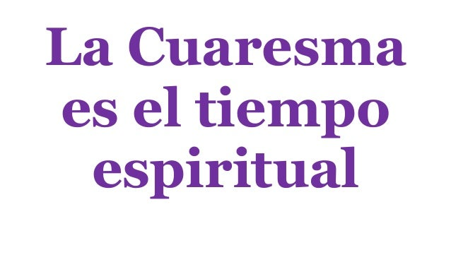Frases Cuaresma